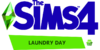 The Sims 4 Laundry Day Stuff Logo