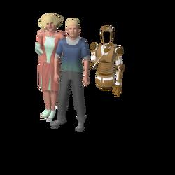 Beaker family (Oasis Landing)
