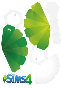 Patron Construire son prisme Les Sims 4