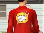 TS2 Доставщик китайского ресторана (одежда)