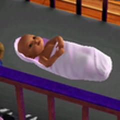 Младенец в <i>The Sims 3</i>
