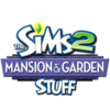 The Sims 2 Mansion & Garden Stuff Logo