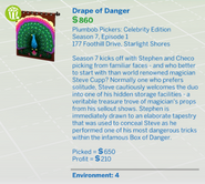 Drape of Danger