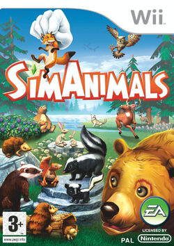 Jaquette SimAnimals Wii