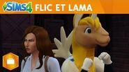 Les Sims 4 Au travail Flic et Lama