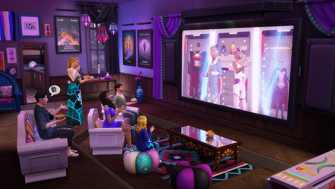 Sims4 Noche Cine 1