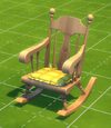 Sit'n'Stitch Rocking Chair with Comfy Cushion