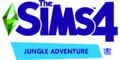 The Sims 4 Jungle Adventure Logo