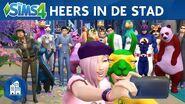 De Sims 4 Stedelijk Leven Officiële Lanceringstrailer