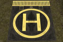 Get to The Choppa Helipad - Yellow