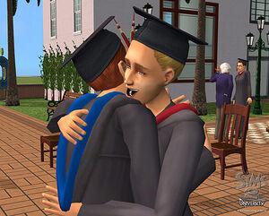 Graduating sims