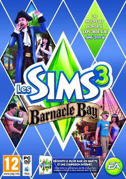 Jaquette Les Sims 3 Barnacle Bay