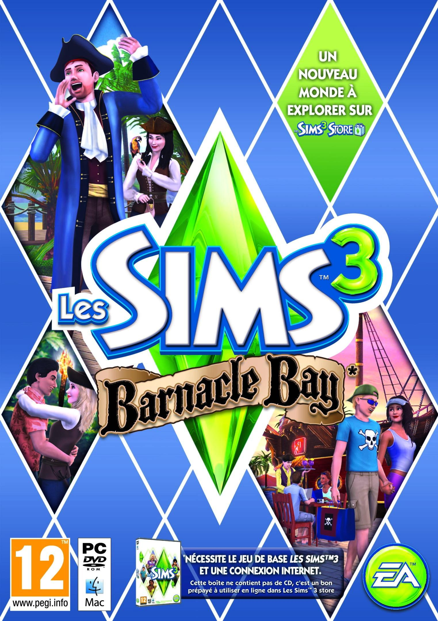 Les Sims 3 Showtime Edition Collector Katy Perry: Les Sims 3: Barnacle Bay