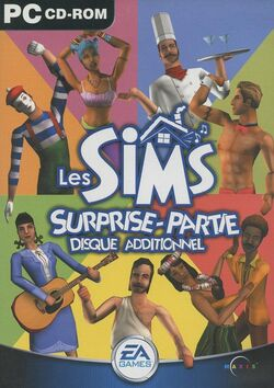 Jaquette Les Sims Surprise-partie