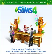 TS4 Life of the party set cover