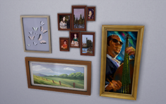 TS4 Paintings