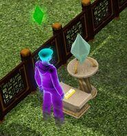 Ghost transmutation