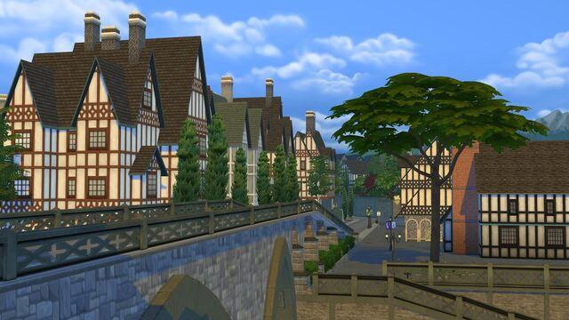 File:Windenburg bridge and homes.jpg