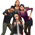 Les Sims 4 Vivre Ensemble Render 12