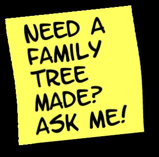 Sticky note - family tree