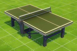 Legendary McFreely Wheely Ping Pong Table