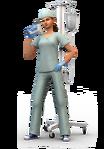 Les Sims 4 Au Travail Render 11