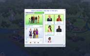 Manage Worlds Selecting Sims