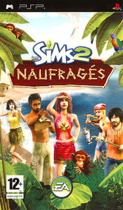Packshot Les Sims 2 Naufragés PSP