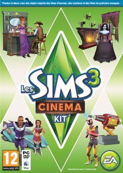 Packshot Les Sims 3 Cinéma