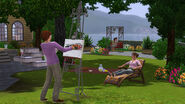 TS3 OutdoorLiving SP3 Easel