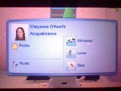 Cheyenne Okeefe