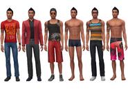Don Lothario ts4 wardrobe