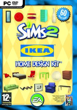 Jaquette Les Sims 2 IKEA Home Design
