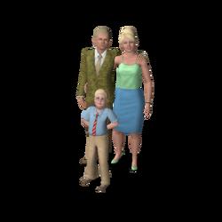 Famille Plènozas (Les Sims 3)
