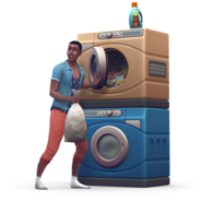 The Sims 4 Laundry Day Stuff Render 04