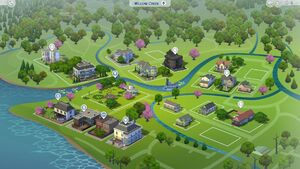 Willow Creek carte