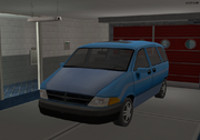 Car parked in garage TS2