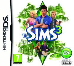 Jaquette Les Sims 3 (Nintendo DS)