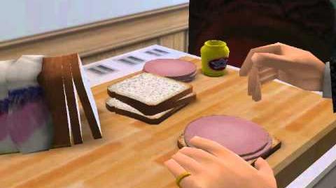 Sim Sandwich preperation