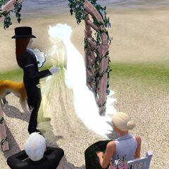 Vampiro casandose con <a href=