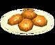 Плюшка с маком и кунжутом