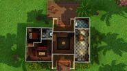 Casa Humilde (Isla Paradiso), primeiro andar