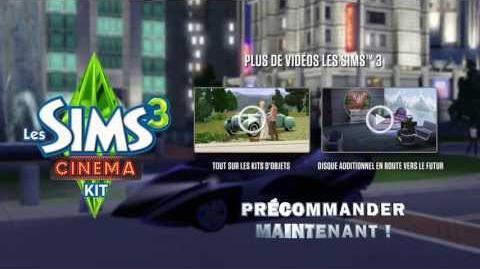 Les Sims™3 Cinéma - Kit d'objets Partie 3 3