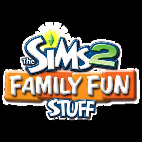File:The Sims 2 Family Fun Stuff Logo.png