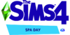 The Sims 4 Spa Day Logo
