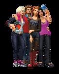 Les Sims 4 Vivre Ensemble Render 1