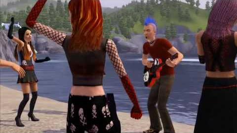 Los Sims 3 Conoce a Magnus, el rockero.