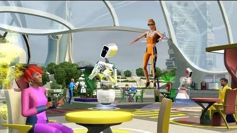 Los Sims 3 - Hacia el Futuro - Trailer Oficial Lanzamiento