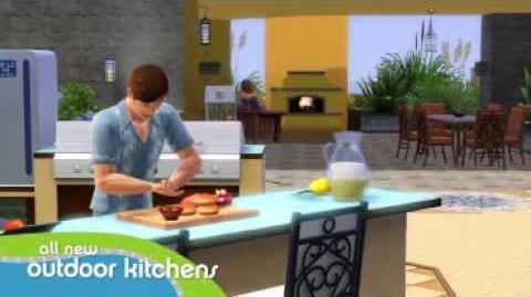 Los Sims 3 Patios y Jardines - Accesorios Tráiler