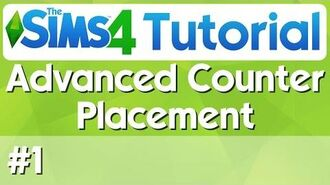 The Sims 4 Tutorial - 1 - Advanced Counter Placement